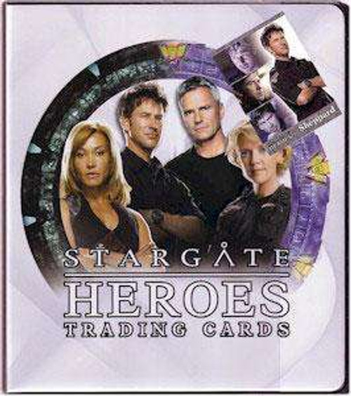 Stargate Trading Card D-Ring Binder [Includes Promo Card]