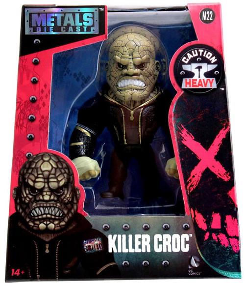 DC Suicide Squad Metals Killer Croc 4-Inch Diecast Figure