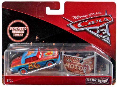Disney / Pixar Cars Cars 3 Demo Derby Bill Diecast Car
