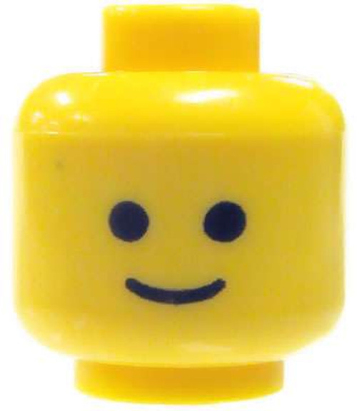 Basic Smile Minifigure Head [Yellow Loose]