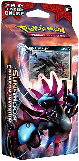 Pokemon Trading Card Game Sun & Moon Crimson Invasion Destruction Fang Theme Deck [Hydreigon]