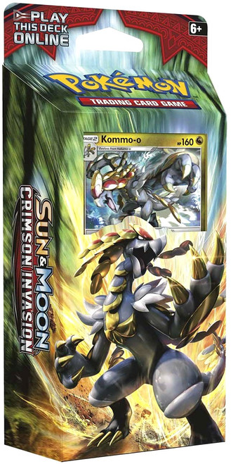 Pokemon Trading Card Game Sun & Moon Crimson Invasion Clanging Thunder Theme Deck [Kommo-o]