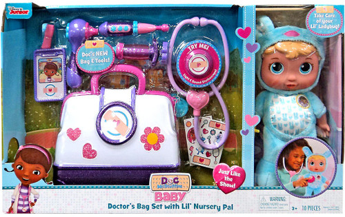 Disney Doc McStuffins Baby Doctor's Bag Set with Lil' Nursery Pal Exclusive Playset [Bunny]