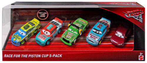 Disney / Pixar Cars Cars 3 Race for the Piston Cup Locke, Clutchburn, Chick, Certain & Wipeout Diecast Car 5-Pack