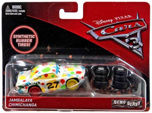 Disney / Pixar Cars Cars 3 Demo Derby Jambalaya Chimichanga Diecast Car