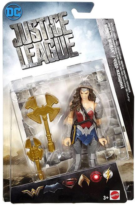 DC Justice League Movie Wonder Woman Action Figure [Battle Ready]
