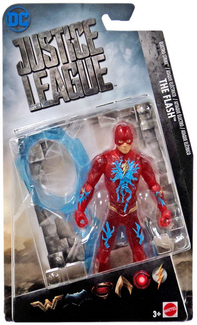 DC Justice League Movie The Flash Action Figure [Electro Strike]