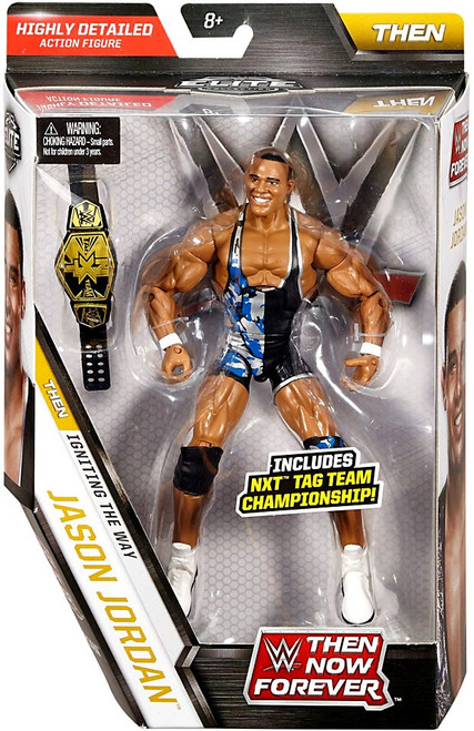 WWE Wrestling Elite Collection Then Now Forever Jason Jordan Action Figure [NXT Tag Team Championship]