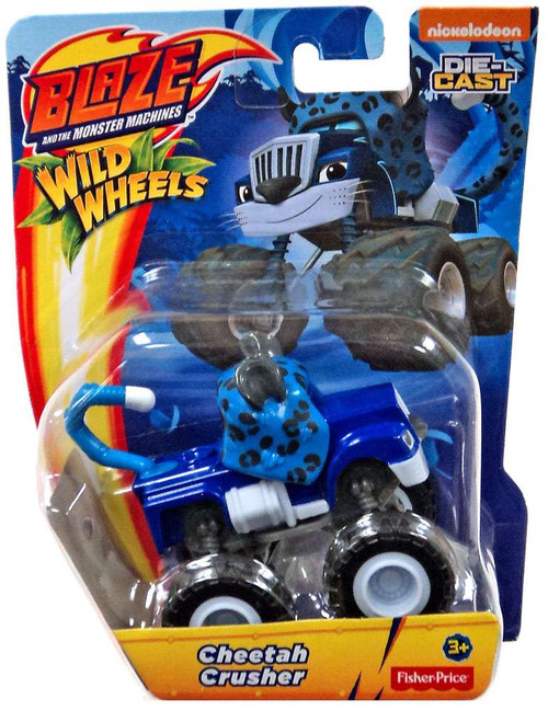Fisher Price Blaze & the Monster Machines Nickelodeon Cheetah Crusher Diecast Car