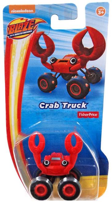 Fisher Price Blaze & the Monster Machines Nickelodeon Crab Truck Vehicle