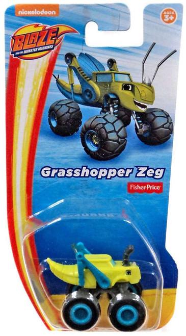 Fisher Price Blaze & the Monster Machines Nickelodeon Grasshopper Zeg Vehicle