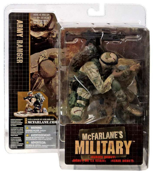 McFarlane Toys Military Army Ranger Action Figure [African American]