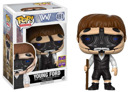 Funko Westworld POP! TV Young Ford Exclusive Vinyl Figure #491 [Open Face]