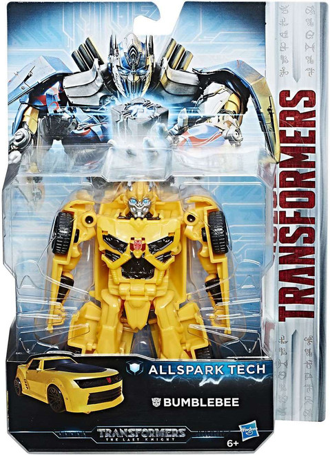 Transformers The Last Knight All Spark Tech Bumblebee Action Figure