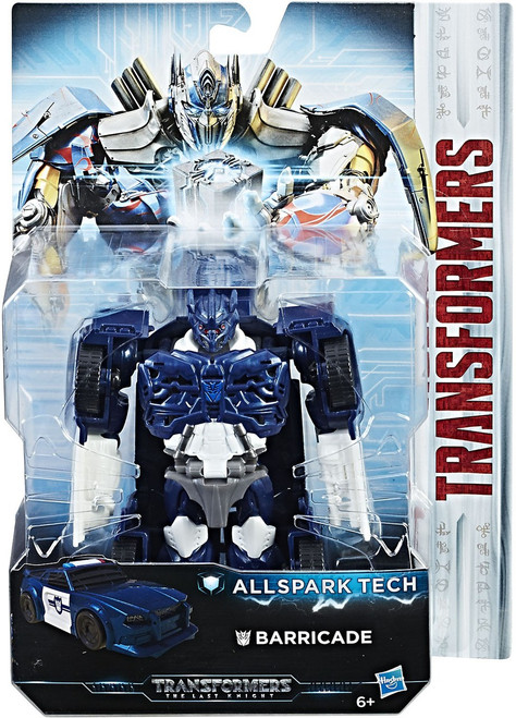Transformers The Last Knight All Spark Tech Barricade Action Figure