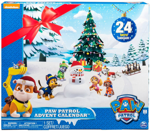 Paw Patrol 2017 Advent Calendar Exclusive Set [24 Gifts]