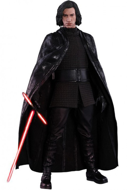 Star Wars The Last Jedi Movie Masterpiece Kylo Ren Collectible Figure MMS438