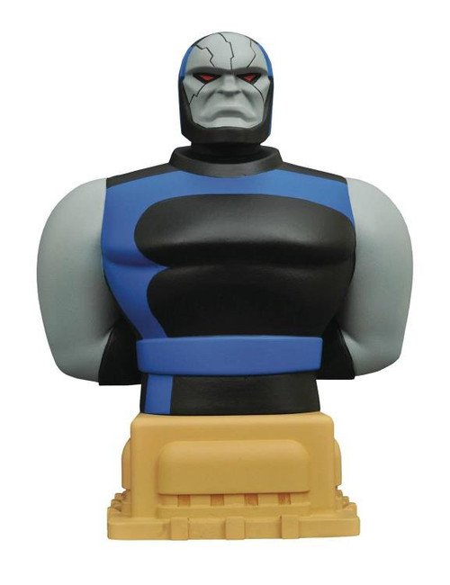 DC Superman Animated Darkseid 7-Inch Bust Bank
