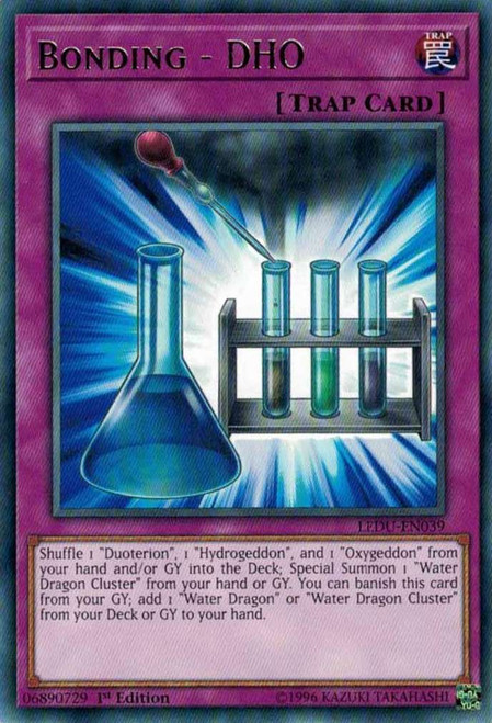 YuGiOh Legendary Duelists Rare Bonding - DHO LEDU-EN039
