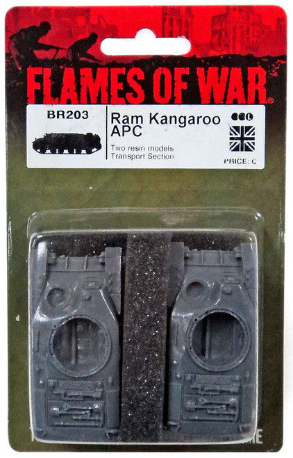 Flames of War Ram Kangaroo APC Miniatures BR203 [Two Resin Models Transport Section]
