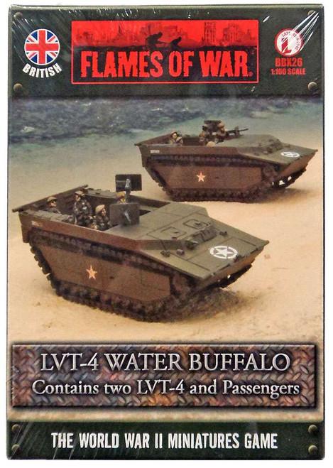 Flames of War LVT-4 Water Buffalo Miniatures BBX26 [Two LVT-4 and Passengers]