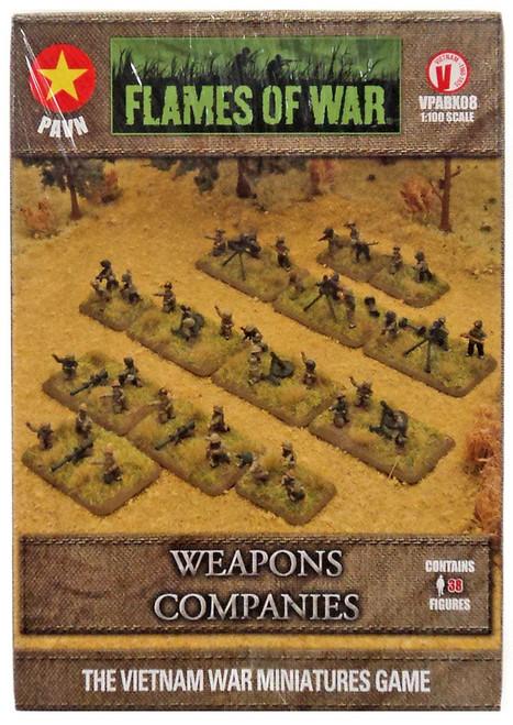 Flames of War Weapons Companies Miniatures VPABX08 [38 Figures]