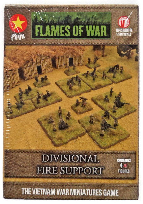 Flames of War Divisional Fire Support Miniatures VPABX09 [47 Figures]