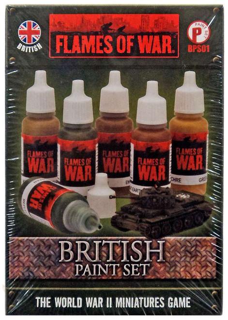Flames of War British Paint Set BPS01