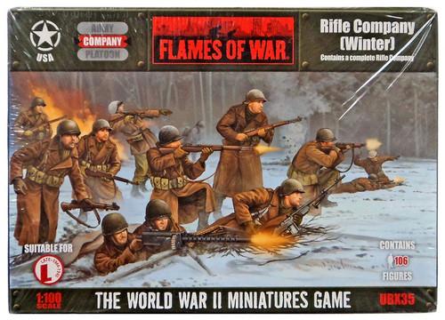 Flames of War Rifle Company (Winter) Miniatures UBX35 [106 Figures]