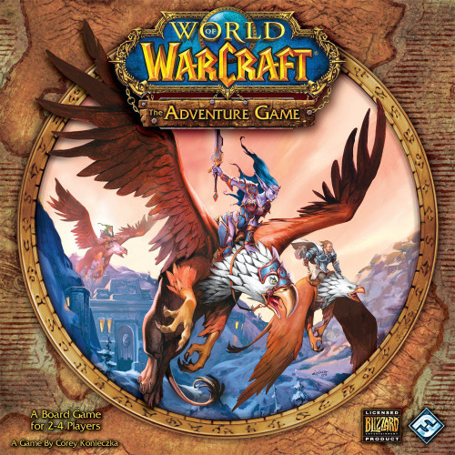 World of Warcraft Adventure Board Game