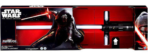 Star Wars The Force Awakens Kylo Ren Exclusive Ultimate Force FX Electronic Lightsaber [Damaged Package]