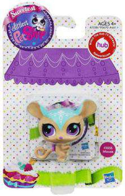 Littlest Pet Shop Sweetest Mouse Figure #3055 [Damaged Package]