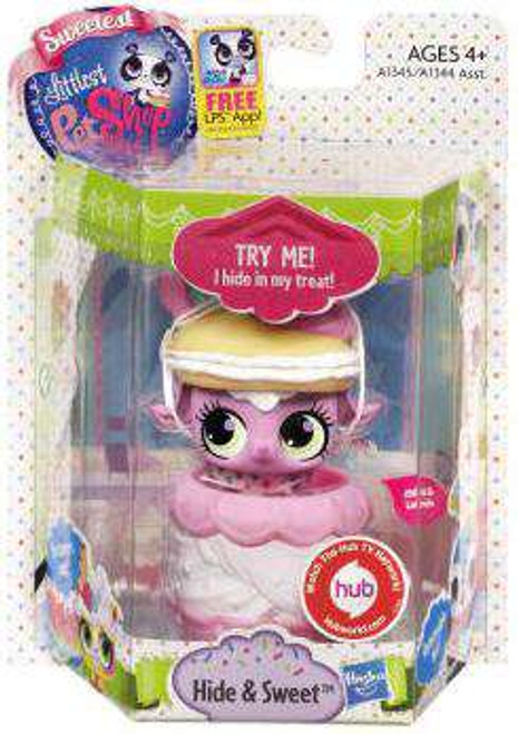 Littlest Pet Shop Sweetest Hide & Sweet Lamb Figure [Damaged Package]