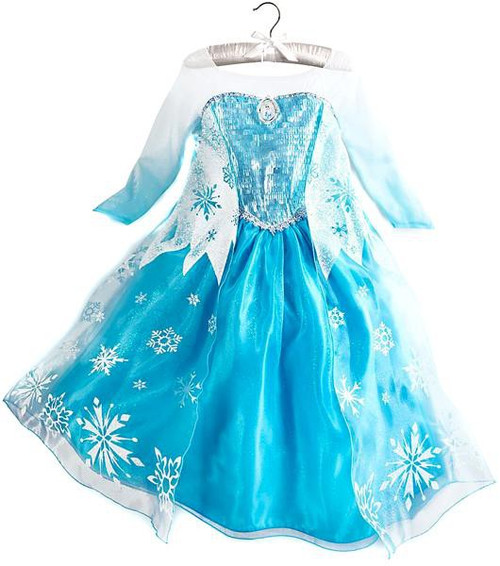 Disney Frozen Elsa Dress Up Toy [Size 4]