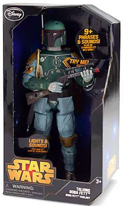 Disney Star Wars The Empire Strikes Back Boba Fett Exclusive Talking Action Figure [Damaged Package]