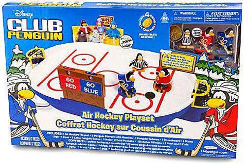 Club Penguin Air Hockey Playset [Damaged Package]