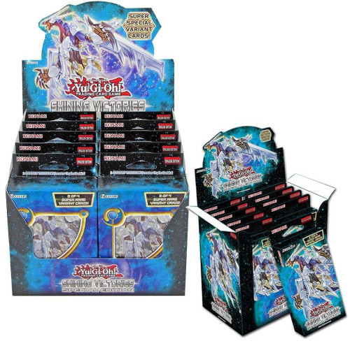 YuGiOh Trading Card Game Shining Victories Special Edition DISPLAY Box [10 Units]