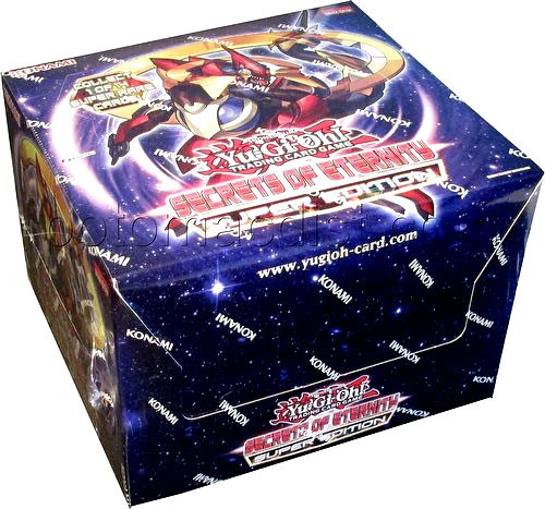 YuGiOh Trading Card Game Secrets of Eternity Super Edition DISPLAY Box [10 Units]