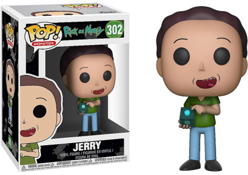 Funko Rick & Morty POP! Animation Jerry Vinyl Figure #302