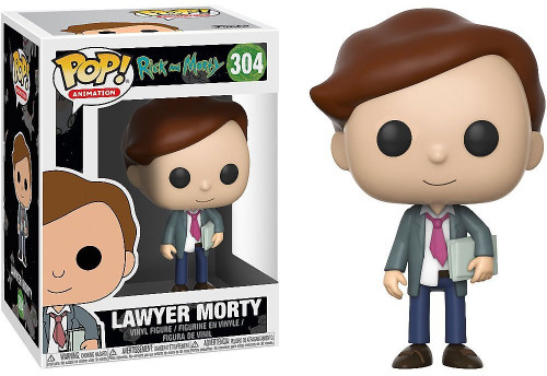 Funko Rick & Morty POP! Animation Lawyer Morty Vinyl Figure
