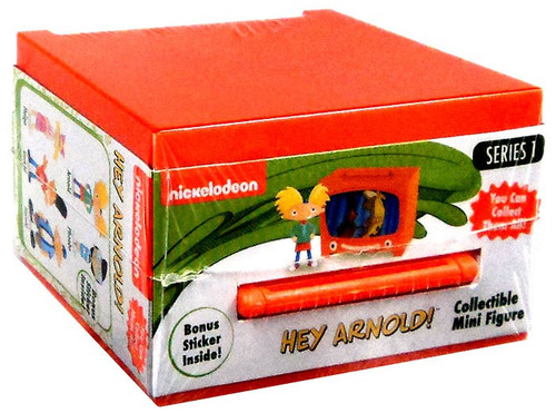 NickToons Hey, Arnold! Series 1 Hey Arnold! Mystery Pack
