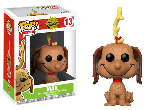 Funko Dr. Seuss POP! Books Max Vinyl Figure #13 [Antler on Head]