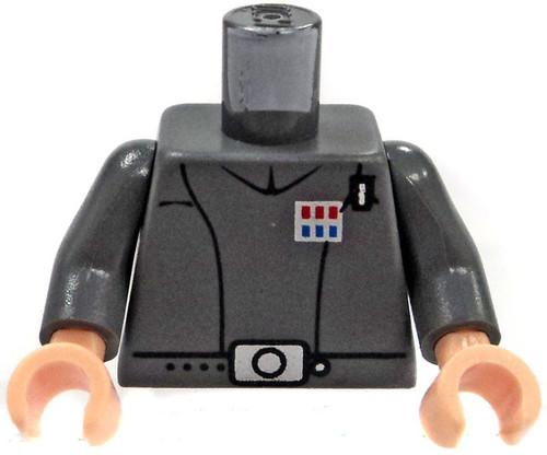 LEGO Gray Imperial Officer Uniform Loose Torso [Loose]