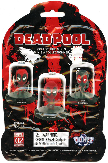 Marvel Domez Series 2 Deadpool Mystery Pack