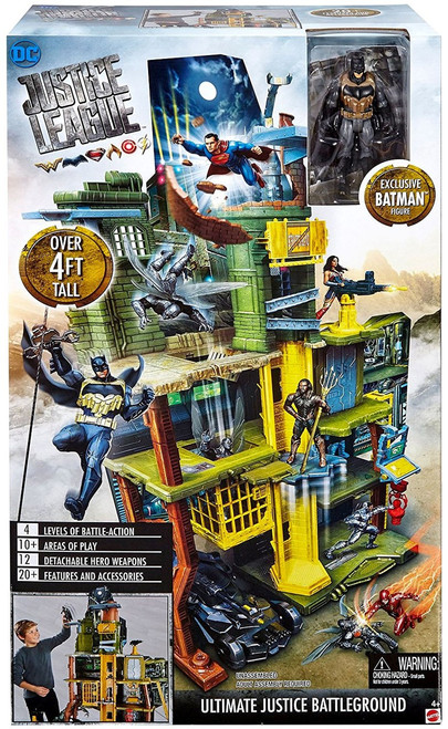 DC Justice League Movie Ultimate Battleground Playset