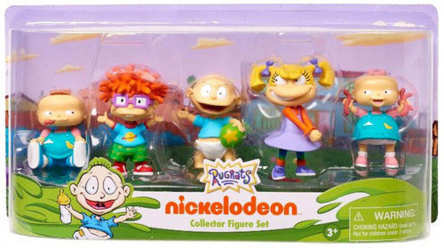 NickToons Rugrats Collector 3-Inch Figure 5-Pack