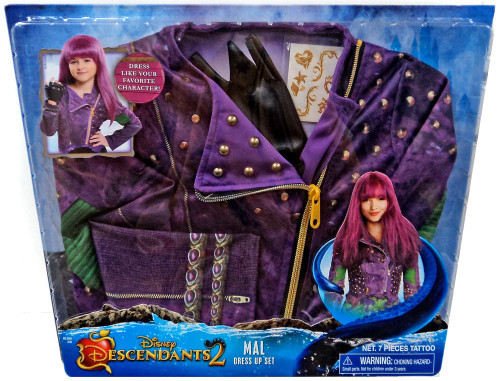 Disney Descendants Descendants 2 Mal Dress Up Kit