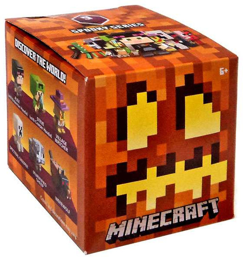 Minecraft Spooky (Halloween) Series 9 Mystery Pack
