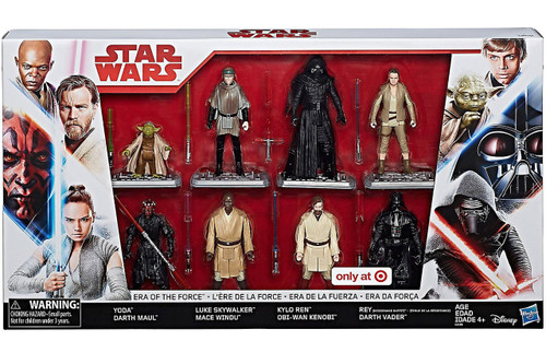 Star Wars Era of the Force Exclusive Action Figure 8-Pack