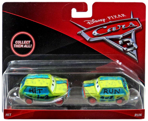 Disney / Pixar Cars Cars 3 Hit & Run Diecast 2-Pack